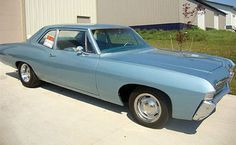 1968 Chevy Biscayne 2 door