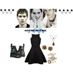We're Sh*t Out Of Luck - The Vampire Diaries - Klaus Mikealson by aliiceroseee on Polyvore
