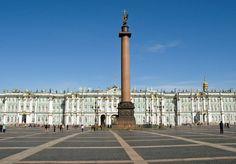 Im Winterpalais und auf der Aurora in Sankt Petersburg.
