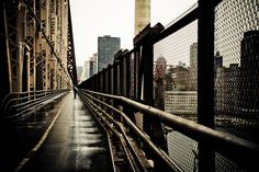 Crossing Queensboro Bridge New York City by Matt Mawson, via Behance | I got butterflies in my stomach looking at these, amazing work.