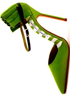 Manolo Blahnik...this is shoe love.