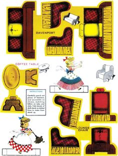 Paper Dolls~Play Housekeeping - Bonnie Jones - Picasa Web Albums