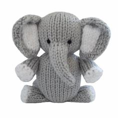 Elephant…Delightful, adorable, soft and cuddly, the Knitables range of gifts, toys and decorations are fun and easy to knit. The patterns are simple and easy to follow and if you can knit, purl, increase and decrease you can make everything in the Knitables range.With these unique designs you can make finger puppets, nursery mobiles or cat nip toys for the family pet. You can knit gifts for birthdays and special occasions, party and wedding favours or decorations for Christmas with chocolate...