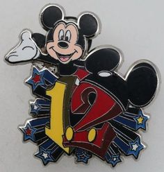 Disney Pin Trading Accessory Starter Set Mickey Mouse Only Pin