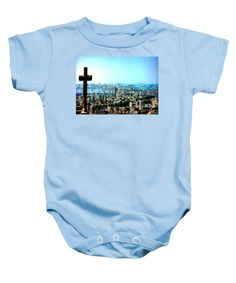 Baby Onesie - Stone Cross In Cartagena Colombia