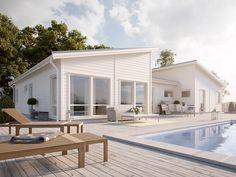 Njut av den öppna och ljusa designen som 1-planshuset Capella från Myresjöhus bjuder på. Capella är ett hus för dig som söker rymlighet!