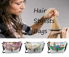 Hair Stylists Messenger Bags