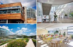center for sustainable landscapes arquitetura bioclimática