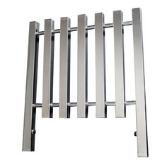 Mistral designer radiator 800H x 598W in Chrome with an output of 1531 Btu/hr.