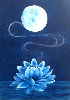 Resultado de imagen para sun and moon and lotus flower Lotus Painting, Painting & Drawing, Flor Tattoo, Lotus Flower Art, Lotus Flower Paintings, Moonflower, Moon Art, Acrylic Art, Drawings