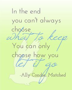 Quote from Matched by Ally Condie (emsreadingroom, via Flickr)