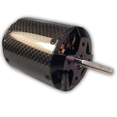 The A40-10L Electric Turbine is specifically for Extreme 3D Helicopters. This motor combines a high-efficient motor design with almost unbelievable power and improved cooling. It is an 8 Pole Inside-Outrunner design   Featuring: 8-Pole High-Temp Neo Magnets, low resistance windings, special Heli-Stator, Fan cooling, High RPM Bearings, and precision ground and hardened output shaft. www.Aero-Model.com