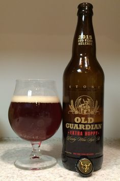 HOW TO PAIR BEER WITH EVERYTHING: Old Guardian Barley Wine Style Ale – Extra Hoppy by Stone Brewing Co.