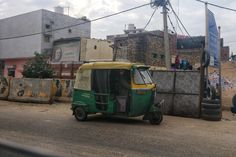 A trademark tuk tuk, waiting for its next destination.