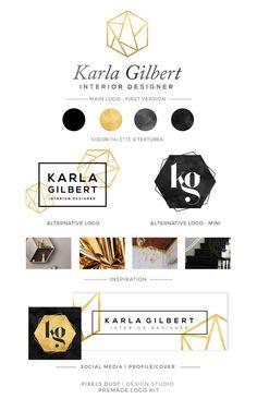 Trendy Ideas For Fashion Logo Branding Icons Blog Logo, Logo Hexagone, Logo Branding, Mode Logos, Design Sites, Bespoke, Hexagon Logo, Fashion Logo Design, Marca Personal