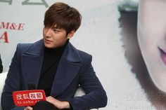 Lee Min Ho during Suho Red Carpet | Media Interview 12.21.13 Beijing,China