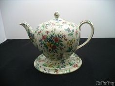 Early Royal Winton Grimwades Queen Anne Albans Teapot Underplate | eBay