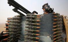 Die US-Streitkräfte haben keine Informationen über den Verbleib der Waffen und militärischen Ausrüstungen im Wert von einer Milliarde Euro, die in den Irak geliefert worden waren. Sie könnten laut  Amnesty International in die Hände von IS-Terroristen gelangt sein.