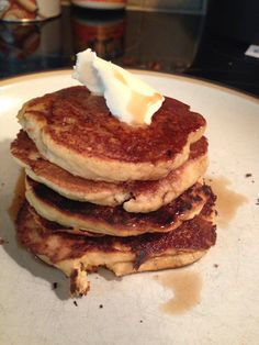 Paleo Coconut Flour Pancakes - grain free but deliciously sinful!