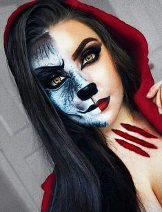 Scary Halloween Makeup, Zombie Halloween, Halloween Makeup Looks, Cool Halloween Costumes, Couple Halloween, Halloween 2018, Halloween Night, Halloween Nails, Happy Halloween