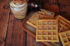 DSC_0895picfi Waffles, Cupcake, Cooking, Breakfast, Sweet, Recipes, Food, Kitchen, Morning Coffee