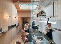 CORK + bar table Office AIO transforms Beijing hutong into tiny coffee bar