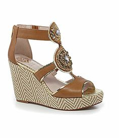 Vince Camuto Torta Espadrille Wedges #Dillards I want These wedges so bad!