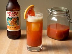 """Drink This Now: Smoky Beer Sangrita"""