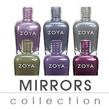 Zoya Mirrors Collection Fall 2011 - Metallics............. I seriously want this ENTIRE collection.