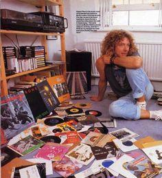 Robert Plant Led Zeppelin vinyl records