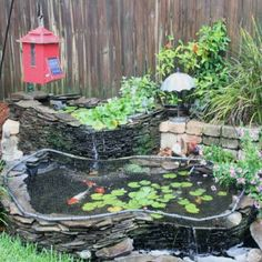 77 best small fish pond images backyard ponds garden ponds water rh pinterest com