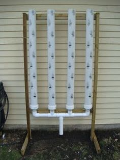 Vertical Strawberry Growing Systems | Vertical strawberry grower (I will be using this for many types of herbs and fruit) self watering o course Jack #hydroponicgardening
