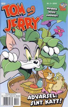 GCD :: Cover :: Tom og Jerry Aktivitetshefte; Tom og Jerry Aktivitet #3/2016 Tom Og Jerry, Comics Story, Looney Tunes, Funny Animals, Toms, Cover, Graphic Novels, Funny Animal, Hilarious Animals