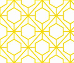 Pretty Web Sunshine fabric by honey.  Would make an interesting quilt pattern.