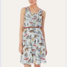 Modcloth Yumi uttam boutique safari dress Nwt Uttam boutique is part of Yumi . Polyester lined adorable! ModCloth Dresses Midi