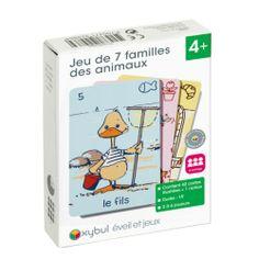 Jeu de 7 familles des animaux - 5 euros