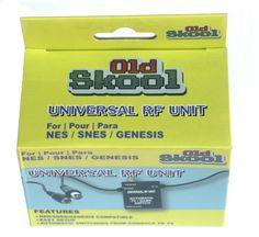 Universal RF Unit Adapter - SNES - NES - Sega Genesis - Automatic TV/Game Switch #OldSkool