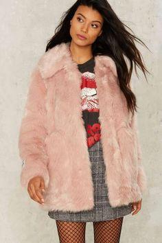 Jakke Tammy Faux Fur Coat
