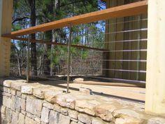 Metal & Wood railings