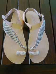 White crystal sandals Things To Buy, Stuff To Buy, Handmade Clothes, Crystals, Sandals, Shoes, Women, Fashion, Diy Clothing