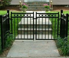 Metal Fence Gate Designs Ornamental fencing iron fence wrought iron fence installation in ornamental gate with circle design metal fence workwithnaturefo