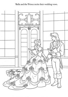 Disney Coloring Pages Belle Coloring Pages, Disney Coloring Sheets, Disney Princess Coloring Pages, Disney Princess Colors, Disney Colors, Cartoon Coloring Pages, Coloring Pages To Print, Coloring Book Pages, Printable Coloring Pages