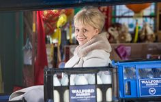 (PHOTO: BBC Pictures)  Everything We Know About Peggy Mitchell's 'EastEnders' Return  Will there be any surprises? Bosses are obviously remaining tight-lipped on the exact details of how things will develop, but we reckon they're bound to have a few secrets up their sleeves.  Anyone in doubt need only cast their minds back to live week's Kathy Beale reveal.