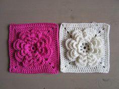 flower square crochet