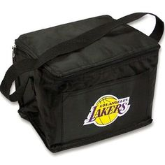 "Los Angeles Lakers Official Insultated Lunch Box by NBA. $9.94. Take your favorite team to lunch with this insulated lunchbox. Tote size is perfect for light lunches. Soft-sided and insulated. Keeps foods fresh for hours. Carrying strap attached. Exterior pocket. Easy-to-clean vinyl construction. Cleans up quickly and easily. Zipper closure seals your lunch inside. Measures when expanded to 5.5"" tall x 8"" wide x 6"" deep. Collapses easily when empty. Official team logo..."