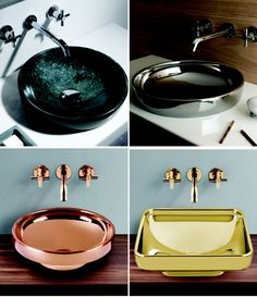 Vitra Water Jewels Counterware | Great For A Powder Room