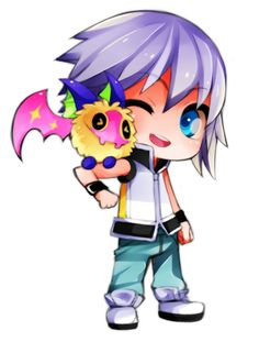Riku and Chu by *kibzy on deviantART