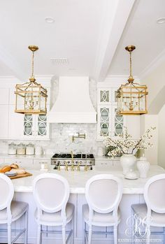 Elegant White Kitchen Reveal