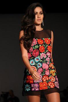 Vestido moderno Mexicano