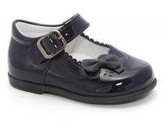 Patucos Infant Marine Patent Shoes for Girls school shoes